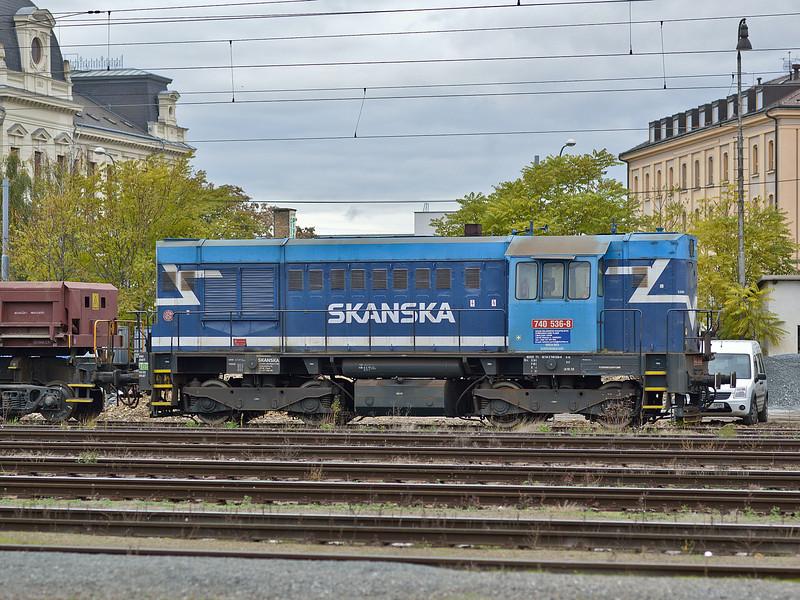 Skanska 740-536 Plzen 18 October 2013