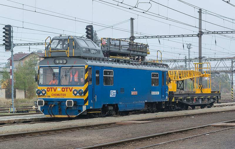 SZDC MVTV 2-109 Chomutov 22 October 2013