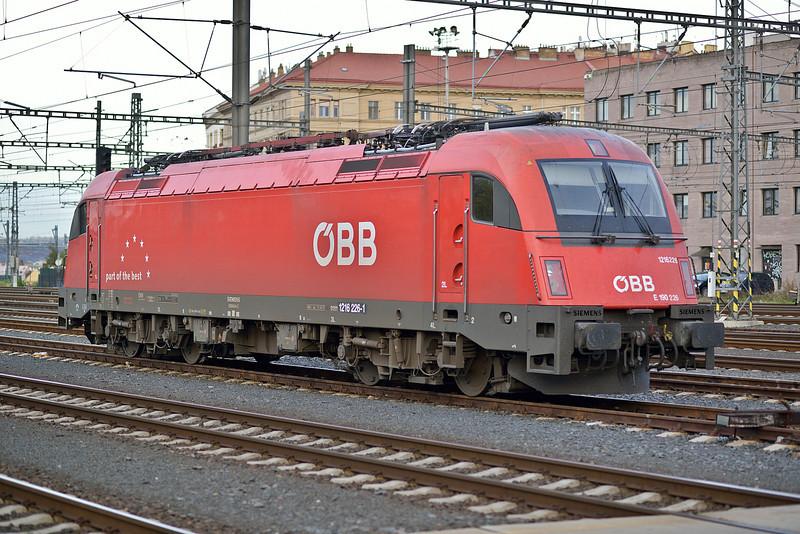 OBB 1216-226 Praha Hlavni Nadrazi 21 October 2013