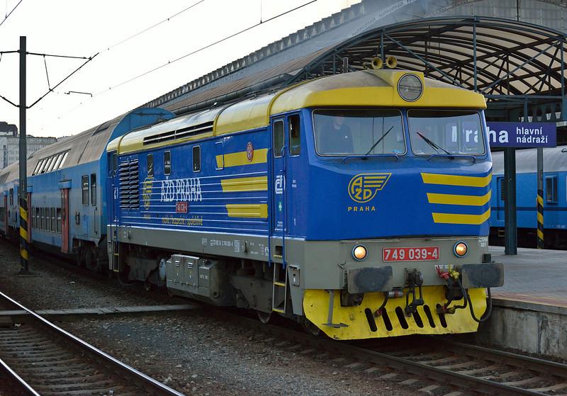 CD 749-039 Praha HN 19 October 2013