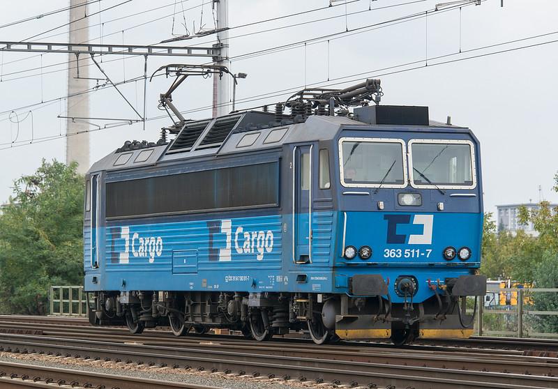 CD Cargo 363-511 Břeclav 20 October 2015