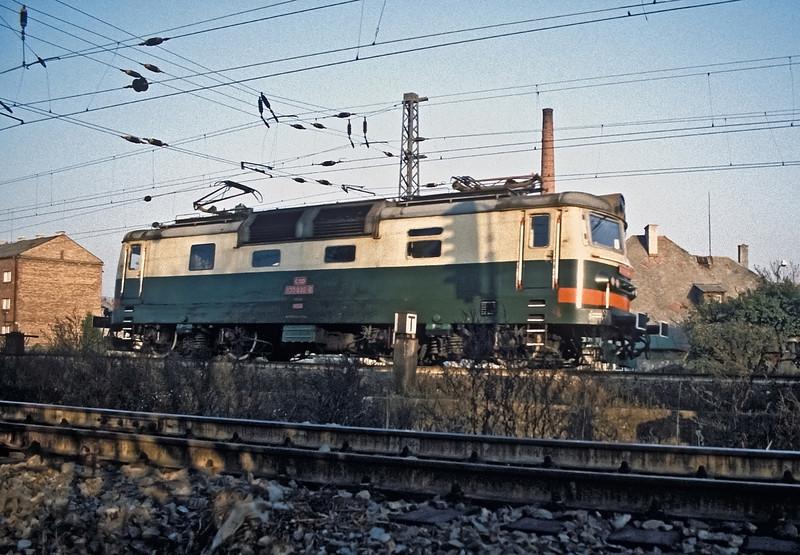 CSD 130-030 is light engine at Ceske Trebova on 30 October 1991