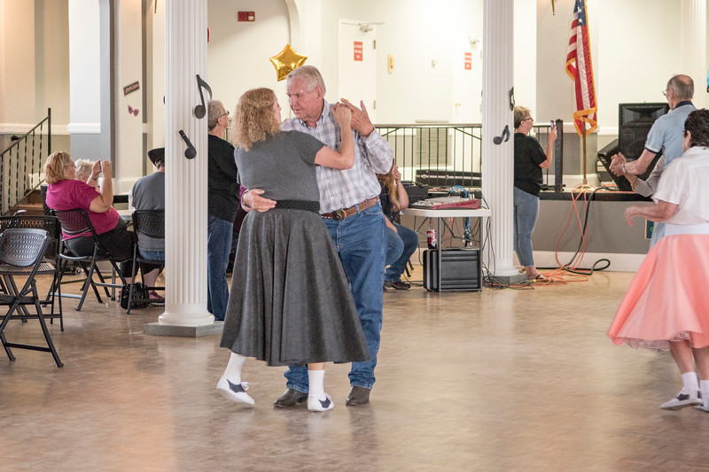 Senior Center Hosts Soc Hop