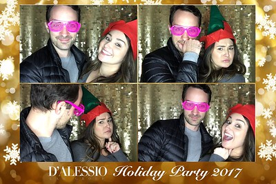 D' Alessio Law Group Holiday Party Prints