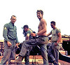 L-R Sgt Moore, Don Babcock, Loyd Williams, Terry Elliott,Gun 4 LZ Uptight