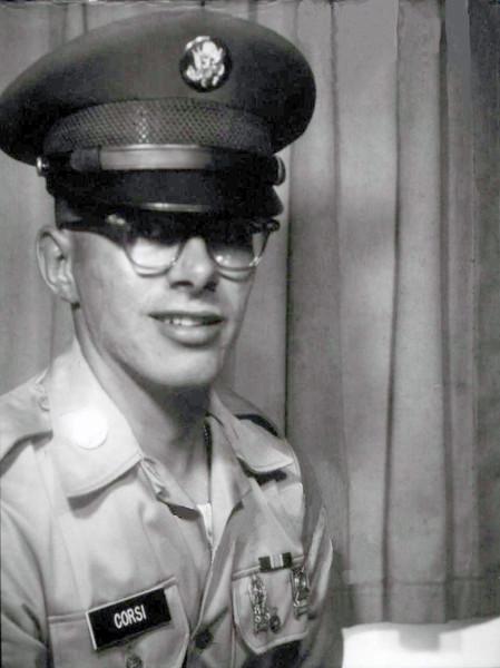 Bob Corsi Basic Training Photo 1968