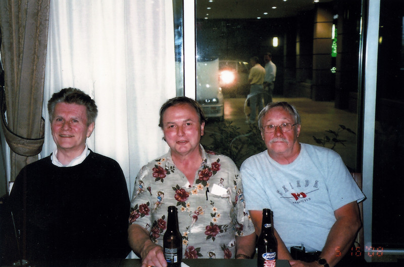 May 2008: Don Babcock, Terry Elliott, Louie Campbell