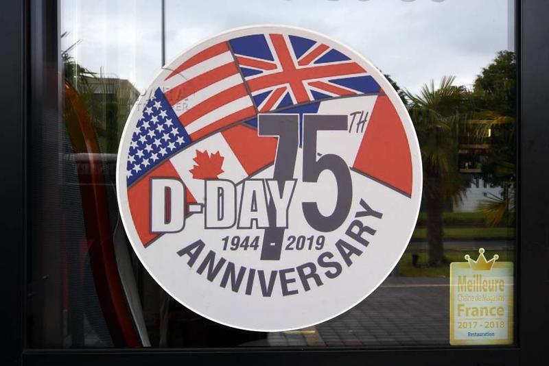 Remembering D-Day 75, Caen, 10 June 2019.  75 years later, interest in and appreciatin of D-Day shows no sign of fading.