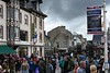 Crowds, Arromanches, Normandy, 5 June 2019 1.  Needless to say, the village was full of visitors and re-enacters.
