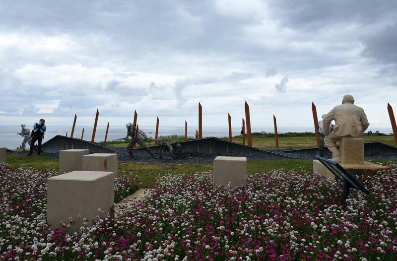 D-Day 75 Garden, Arromanches, Normandy, 5 June 2019 2.