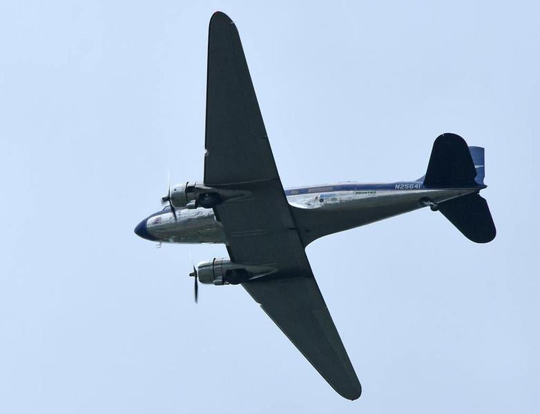 Legend Airways Dakota N25641, Sannerville, east of Caen, France, 5 June 2019.