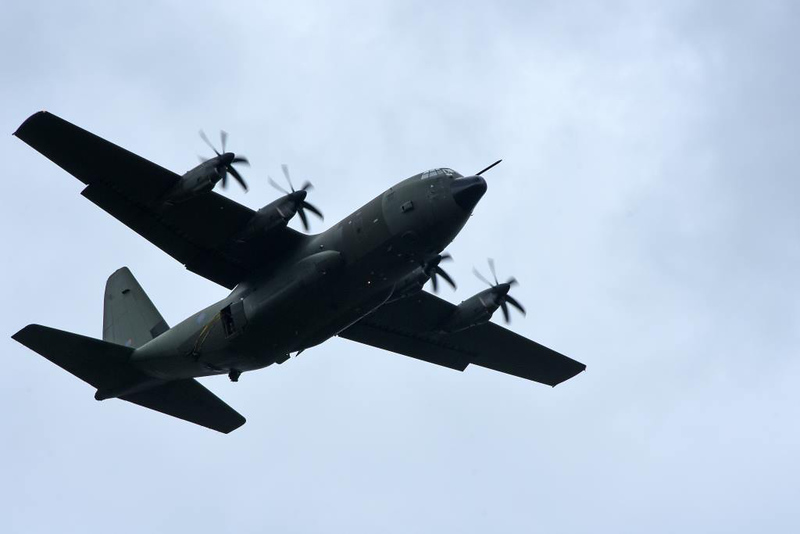 RAF C-130J Hercules ZH888, Sannerville, east of Caen, France, 5 June 2019 2.