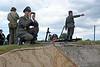 Wehrmacht re-enacters, Merville battery, Normandy, 8 June 2019 1.  Achtung!
