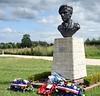 Lt Col Otway memorial, Merville battery, Normandy, 8 June 2019.  Not a re-emacter...