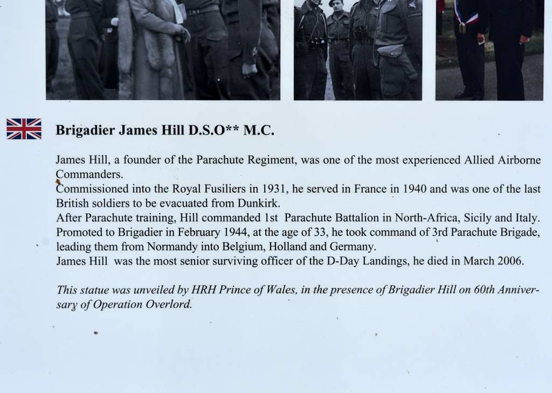 Remembering Brigadier James Hill, Pegasus Memorial, Ranville, Normandy, 8 June 2019 2.