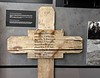 Remembering the fallen, Pegasus Memorial, Ranville, Normandy, 8 June 2019 2 ...Then.  Here is a temporary marker made after D-Day recording the graves of 10 soldiers.
