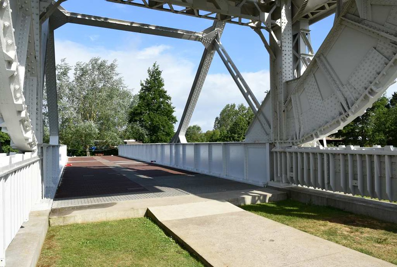 Pegasus Bridge, Pegasus Memorial, Ranville, Normandy, 8 June 2019 5.