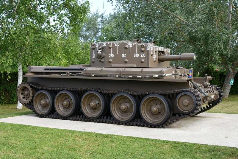 Centaur tank Mark IV, Pegasus Memorial, Ranville, Normandy, 8 June 2019 1.