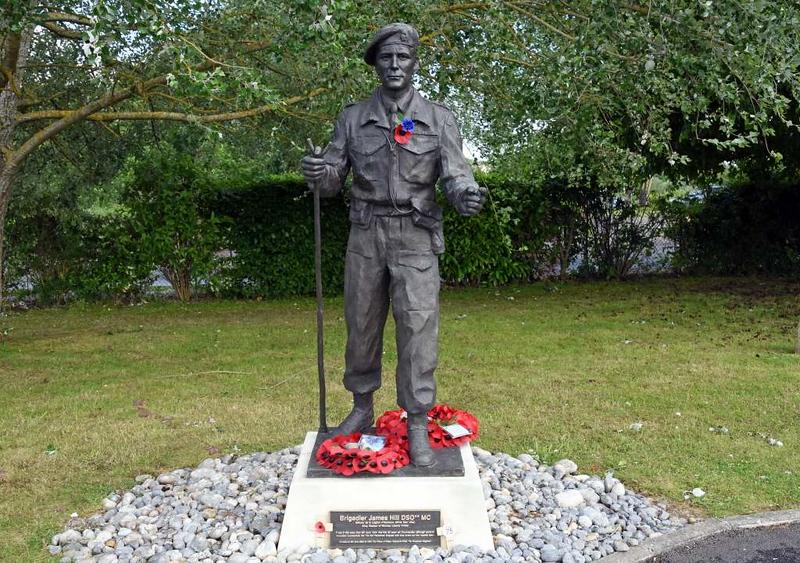 Remembering Brigadier James Hill, Pegasus Memorial, Ranville, Normandy, 8 June 2019 1.