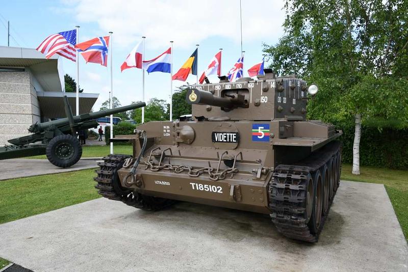 Centaur tank Mark IV, Pegasus Memorial, Ranville, Normandy, 8 June 2019 2.