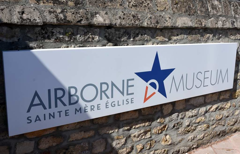 Airborne Museum, Ste Mere Eglise, Normandy, 6 June 2019.  Here are nine photos of the museum.