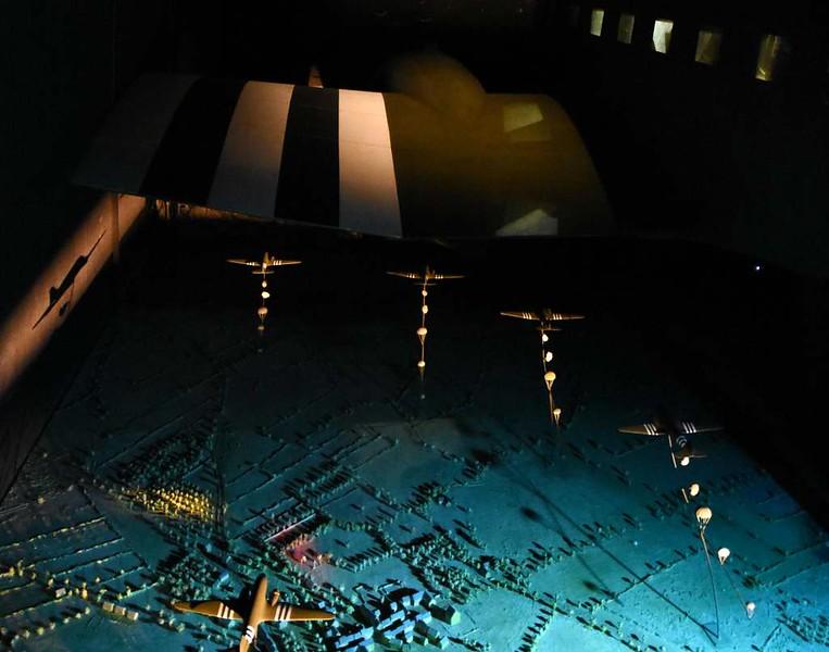 Replica USAAF Douglas C-47 Skytrain P / 315510, Airborne Museum, Ste Mere Eglise, Normandy, 6 June 2019 4. 'Green light on - Go!'