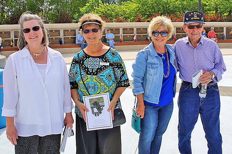 Group picture at the National D-Day Memorial