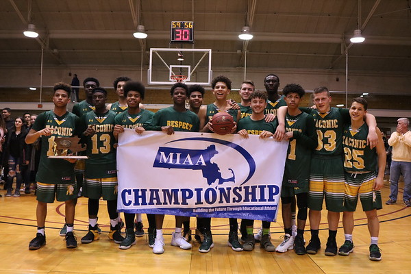 D-II Western Mass. Championship: Taconic vs. Northampton boys basketball - 031018