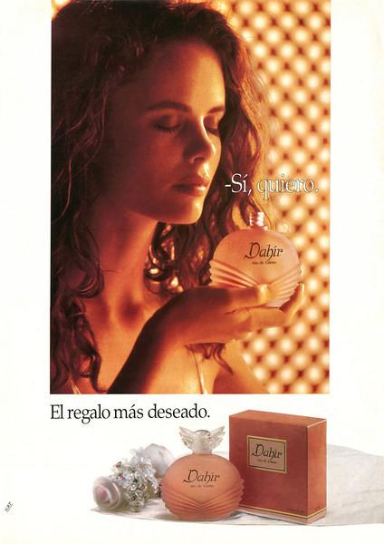 DAHIR Eau de Toilette 1993 Spain 'Sí, quiero - El regalo más deseado'