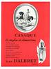 JEAN D'ALBRET Casaque 1960 Switzerrland 'Le parfum du Romantisme'