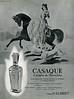 JEAN D'ALBRET Casaque 1958 France  'Le parfum du Romantisme' VBeaute