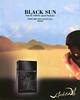 SALVADOR DALI Black Sun 2007 Belgium 'Eau de Toilette pour Homme'
