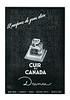 DANA Cuir de Canada 1953-1954 Spain (small format) 'El perfume de gran clase'