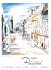 DANA Divers 1947 Spain 'En Paris, 9, rue de la Paix'