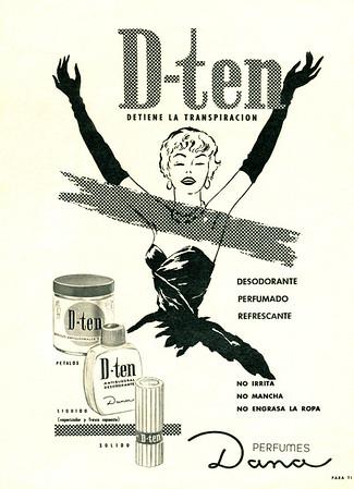 D-ten deodorants