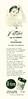 DANA D-ten deodorant 1953 Argentina third page 'Pétalos que D-tienen la transpiración'