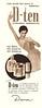 DANA D-Ten deodorant 1958 Argentina half page 'Para hacer más grata su presencia'
