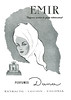 DANA Emir 1958 Spain 'Perfume exótico de gusto internacional' <br /> ILLUSTRATOR: Roberto Rodríguez Baldrich