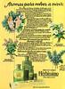 DANA Herbíssimo Aguas de Colonia Naturales 1981 Spain 'Aromas para volver a vivir - Aromas naturales de Dana'