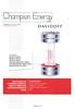 Davidoff Champion Energy 2011 Spain (Ventas Perfumería y cosmética magazine)