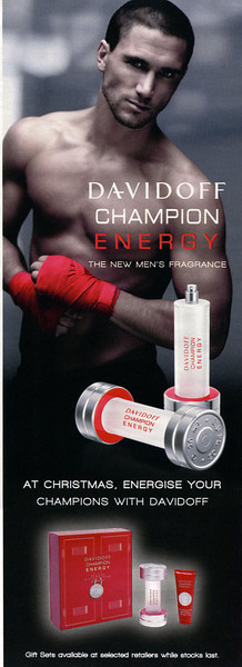 DAVIDOFF Champion Energy 2011 UK half page