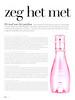 DAVIDOFF Cool Water Sea Rose 2013 Belgium (advertorial Beauty Magazine) text in Dutch