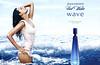 DAVIDOFF Cool Water Wave 2007 Japan spread<br /> MODEL: Fernanda Tavares (Brazil), PHOTO: Phil Poynter