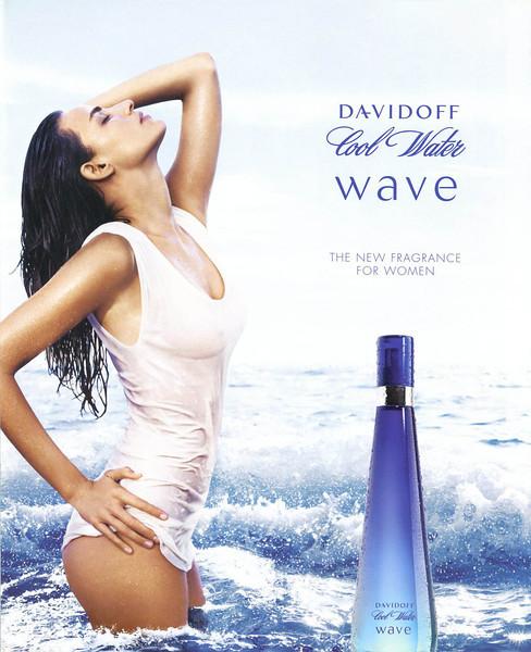 DAVIDOFF Cool Water Wave 2007 Belgium<br /> MODEL: Fernanda Tavares (Brazil), PHOTO: Phil Poynter