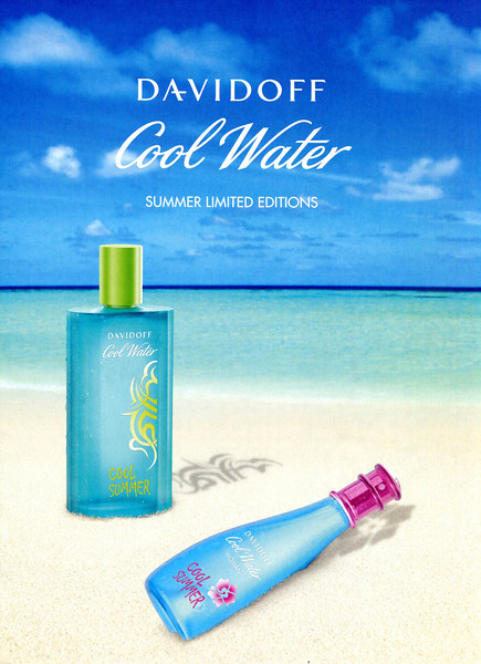 DAVIDOFF Cool Water Cool Summer Limited Edition 2009 UK