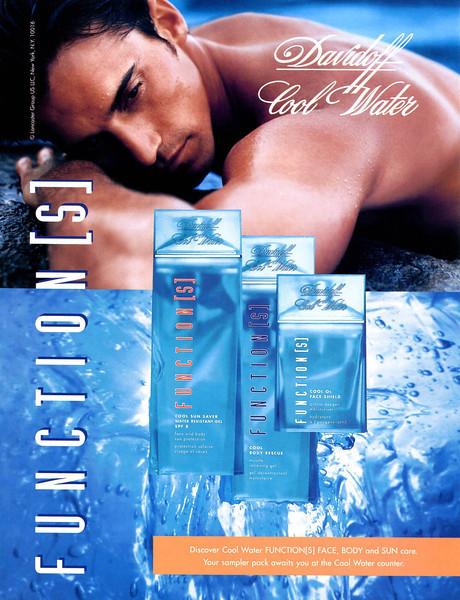DAVIDOFF Cool Water Function(s) 2002 UK