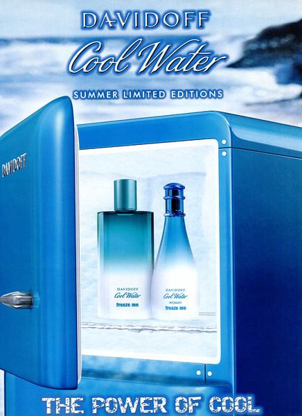 DAVIDOFF Cool Water Freeze Me Limited Editions  2008 UK