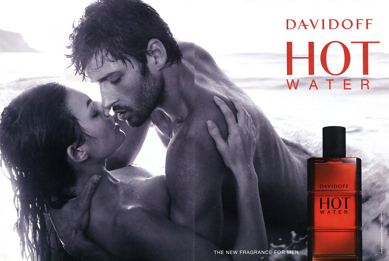 DAVIDOFF Hot Water 2009 UK spread 'The new fragrance for men'