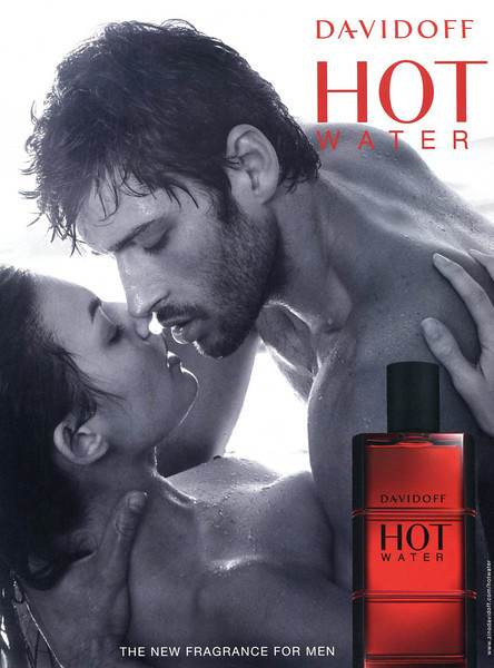 DAVIDOFF Hot Water 2009 Belgium 'The new fragrance for men'<br /> MODELS: Alyssa Miller & Alexix Papa; PHOTO: Matthew Brookes