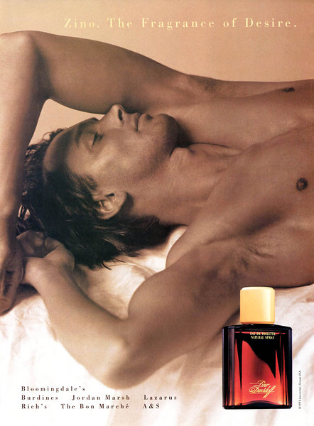 DAVIDOFF Zino 1993 US 'The fragrance of desire'
